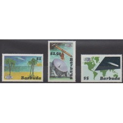 Barbuda - 1986 - No 808/810 - Astronomie