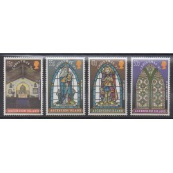 Ascension Island - 1997 - Nb 708/711 - Christmas - Churches