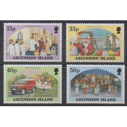 Ascension Island - 1998 - Nb 729/732 - Christmas