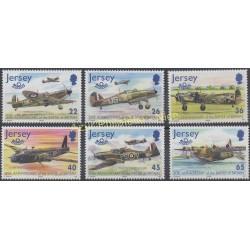 Jersey - 2000 - No 950/955 - Avions