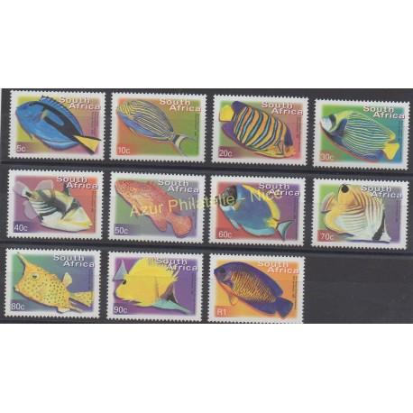 Afrique du Sud - 2000 - No 1127C/1127N - poissons