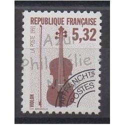 France - Préoblitérés - 1992 - No P223a - Musique