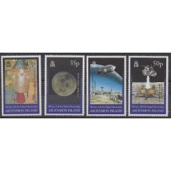Ascension Island - 1999 - Nb 743/746 - Space