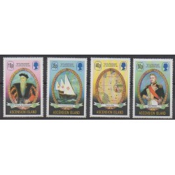 Ascension Island - 2001 - Nb 783/786 - Boats
