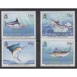 Ascension Island - 2004 - Nb 847/850 - Sea animals