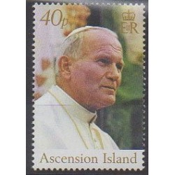 Ascension Island - 2005 - Nb 874 - Pope