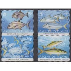 Ascension Island - 2006 - Nb 882/885 - Sea animals