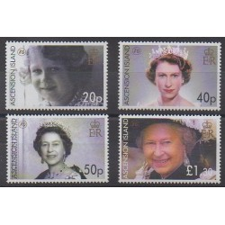 Ascension Island - 2006 - Nb 886/889 - Royalty