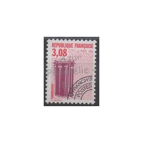 France - Préoblitérés - 1992 - No P218A - Musique