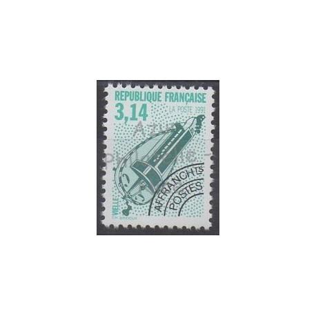 France - Préoblitérés - 1992 - No P219A - Musique