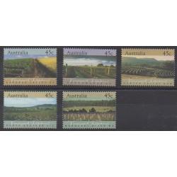 Australia - 1992 - Nb 1258/1262 - Gastronomy