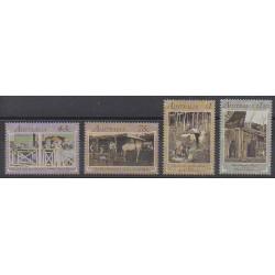 Australie - 1991 - No 1224/1227 - Littérature