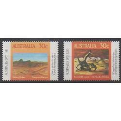 Australie - 1985 - No 890/891 - Peinture