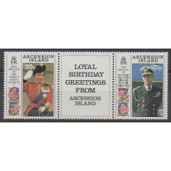 Ascension Island - 1991 - Nb 524/525 - Royalty
