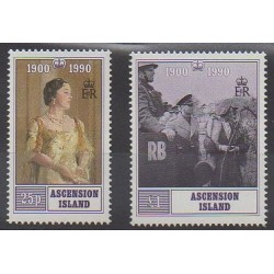 Ascension Island - 1990 - Nb 511/512 - Royalty