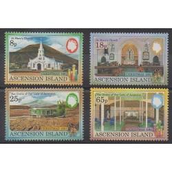 Ascension - 1991 - No 535/538 - Églises