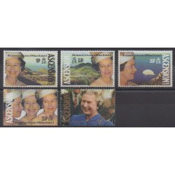 Ascension Island - 1992 - Nb 554/558 - Royalty