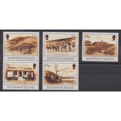 Ascension Island - 1995 - Nb 627/631 - Various Historics Themes