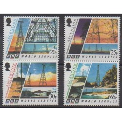 Ascension - 1996 - No 673/676 - Télécommunications