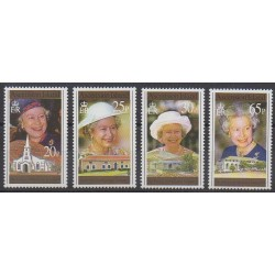 Ascension Island - 1996 - Nb 649/652 - Royalty