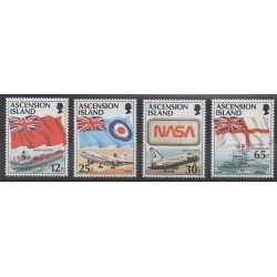 Ascension Island - 1997 - Nb 686/689 - Flags