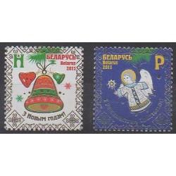 Biélorussie - 2011 - No 753/754 - Noël