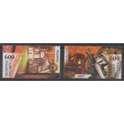 Biélorussie - 2007 - No 609/610 - Artisanat ou métiers