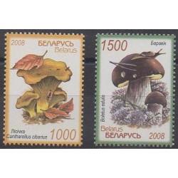 Biélorussie - 2008 - No 636/637 - Champignons