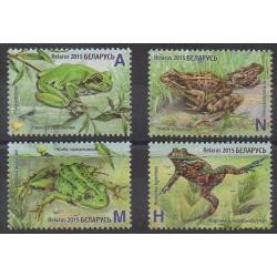 Biélorussie - 2015 - No 917/920 - Reptiles