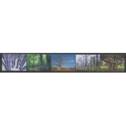 Australie - 2005 - No 2366/2370 - Arbres