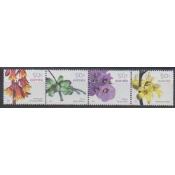 Australie - 2007 - No 2656/2659 - Fleurs