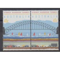 Australie - 1992 - No 1276/1277 - Ponts
