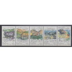Australie - 1992 - No 1264/1268 - Environnement