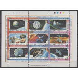 Sierra Leone - 1989 - Nb 986/994 - Space