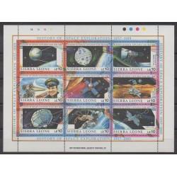 Sierra Leone - 1989 - No 986/994 - Espace