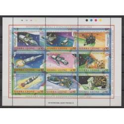Sierra Leone - 1989 - No 1042/1050 - Espace