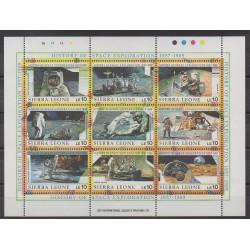 Sierra Leone - 1989 - No 1012/1020 - Espace