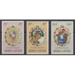 Sierra Leone - 1981 - Nb 472/474 - Royalty