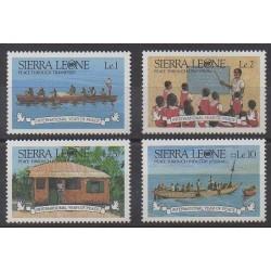 Sierra Leone - 1986 - Nb 735/738