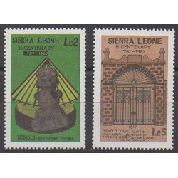 Sierra Leone - 1987 - Nb 777/778 - Art