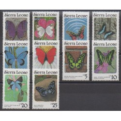Sierra Leone - 1987 - No 794/803 - Insectes