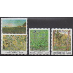 Sierra Leone - 1991 - Nb 1366/1369 - Paintings