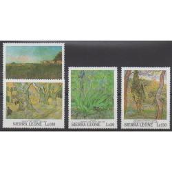 Sierra Leone - 1991 - No 1366/1369 - Peinture