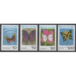 Sierra Leone - 1991 - No 1330/1333 - Insectes