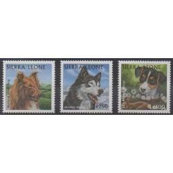 Sierra Leone - 1997 - No 2452/2454 - Chiens