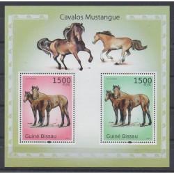 Guinea-Bissau - 2010 - Nb BF542 - Horses