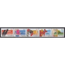 Australie - 2004 - No 2201/2205 - Sciences et Techniques