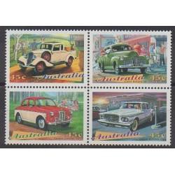 Australie - 1997 - No 1571/1574 - Voitures