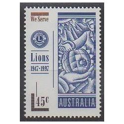 Australie - 1997 - No 1582 - Rotary ou Lions club
