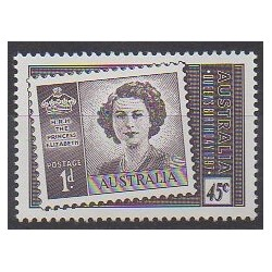 Australia - 1997 - Nb 1581 - Royalty - Stamps on stamps